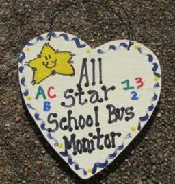 Teacher Gifts 5039 Teacher Gifts All Star School Bus Monitor