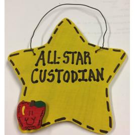 Teacher Gifts 5041 All Star Custodian