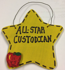 Teacher Gifts 5041 All Star Custodian