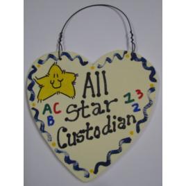 Teacher Gifts 5045 All Star School Custodian