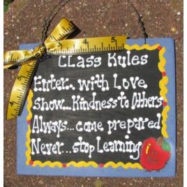Teacher Gift  5107 Class Rules