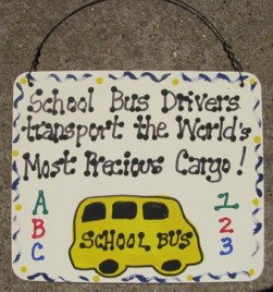 5112 - School Bus Drivers transport the World's most Precious Cargo