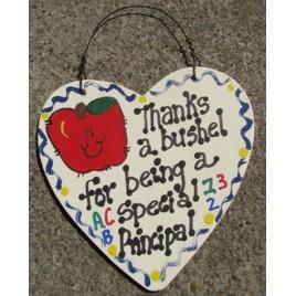 Teacher Gifts 6006 Thanks a Bushel for bieng a Special Principal