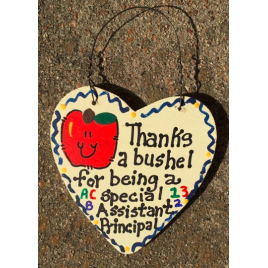 Teacher Gift  6007 Thanks a Bushel Special Assistant Principal