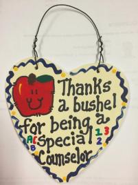 Teacher Gift  6008 Thanks a Bushel Special Counselor