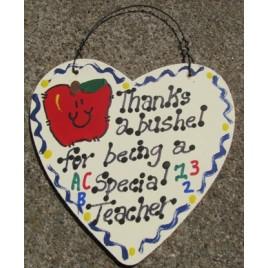 Teacher Gift  6009 Thanks a Bushel Special Teacher