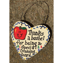 Teacher Gift  6012 Thanks a Bushel Special Crossing Guard