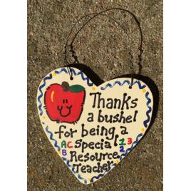Computer Teacher Gift 6022 Thanks a Bushel Special Resource Teacher