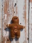 6569 Gingerbread Brown Ornament
