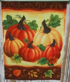 6665 Five Pumpkins Garden Flag