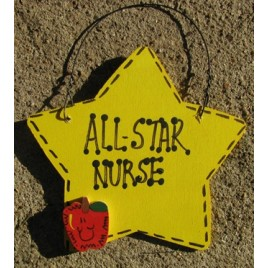 Teacher Nurse Gifts Yellow 7011 All Star Nurse