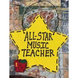 Teacher Gift 7017  All Star Music Teacher