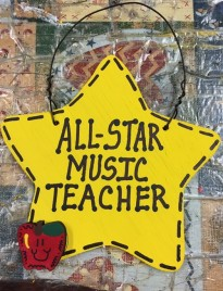 Teacher Gift 7017  All Star Music Teacher