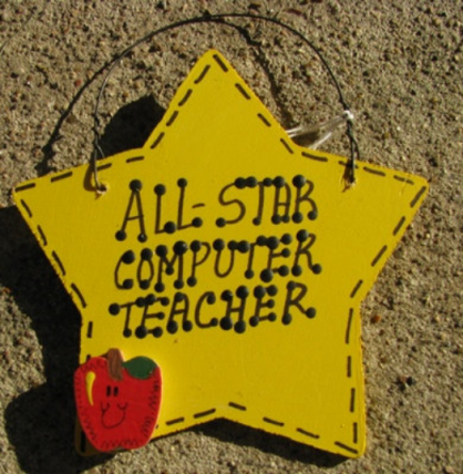 Teacher Gifts All Star Computer Teacher