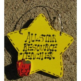 Teacher Gifts Yellow 7022 All Star Resource Teacher