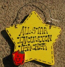 Inclusion Teacher Gifts 7026 All Star Inclusion Teacher