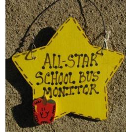 School Bus Monitor Teacher Gifts 7028  All Star School Bus Monitor