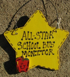 School Bus Monitor Teacher Gifts 7028  All Star School Bus Monitor