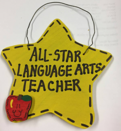 Teacher Gift 7050 All Star Language Arts Teacher