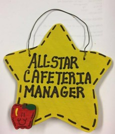 Teacher Gift 7100  All Star Cafeteria Manager