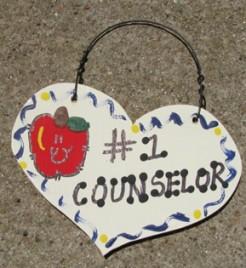 Teacher Gifts  801 Counselor Wood Teacher Heart