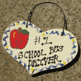Teacher Gifts Number One 815 School Bus Driver Heart Handmade