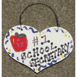 School Bus Monitor Gifts Number One 818  School Secretary