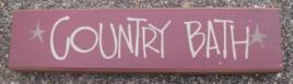 Primitive Wood Block  82255CB- Country Bath