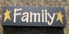 8W1565F - Family wood block