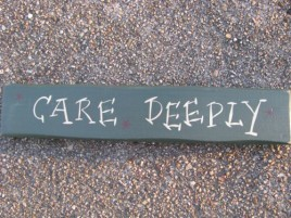 9008CD-Care Deeply wood block