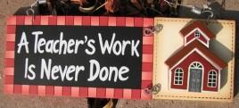 90856R Teacher's Work is Never Done