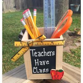 Teacher Gift  913502DC  Teachers Have Class Pencil  Box