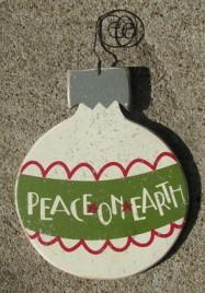 H0-5229 Peace on Earth Bulb