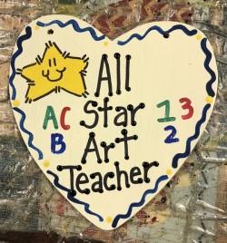 Teacher Gifts 5005 All Star Art Teacher