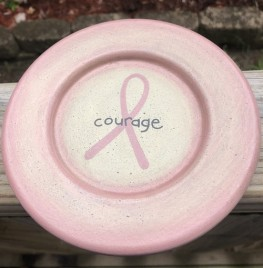 31848C-Courage Wood Plate