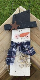 69246th - Slim Snowman Ornament