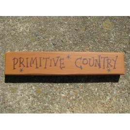 Primitive Wood Block M9004PC - Primitive Country