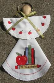 Angel Wood Spoon Teacher Cloth