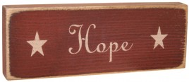 g12565 - Hope messenger wood block
