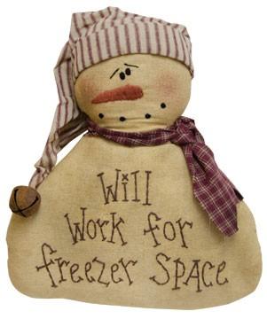 GC13383 - Freezer Space Snowman