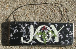 GH5166J - Joy wood sign
