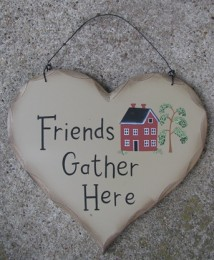 HP1 - Friends Gather Here saltbox House