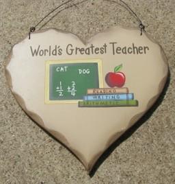 HP15 World's Greatest Teacher Heart