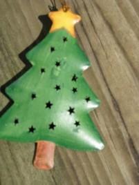 Christmas Ornament OR-301 Christmas Tree Tin