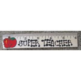 S600 - Super Teacher wood ruler