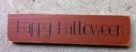 T2097 - Happy Halloween Wood Block