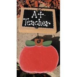 TE305 - A+ Teacher Apple Sign