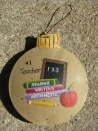 OR-519 - #1 Teacher Ornament