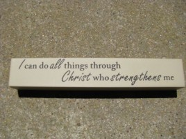 8w1338d - I can do all things through Christ who strengthens me