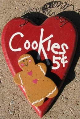 Gingerbread WD1100- Cookies 5 cents